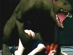 Bosomy sluts in the out-and-outly perverted bondage