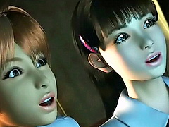Cartoon nurse in unvarying fucked hard-core