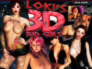 Lokis 3D bad girls