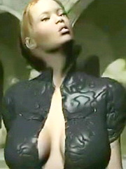 Daughter gets a mouthful from her depraved daddy
